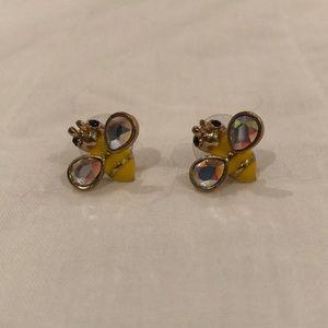 Betsey Johnson Bee Stud Earrings